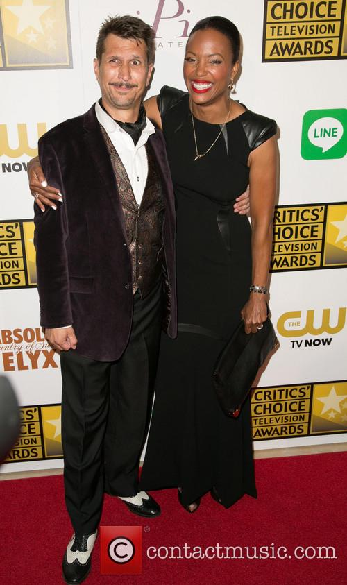 Lucky Yates and Aisha Tyler 7