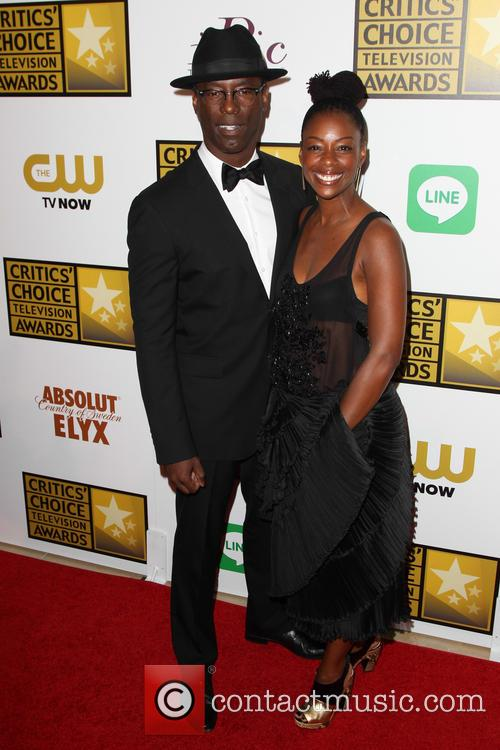 Isaiah Washington and Jenisa Marie Washington 4
