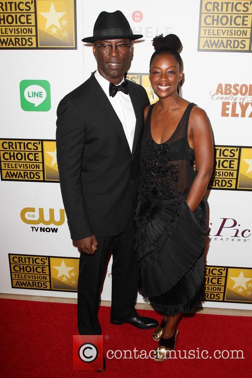 Isaiah Washington and Jenisa Marie Washington 1