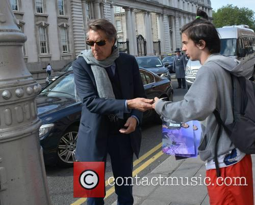 Bryan Ferry at The Merrion Hotel