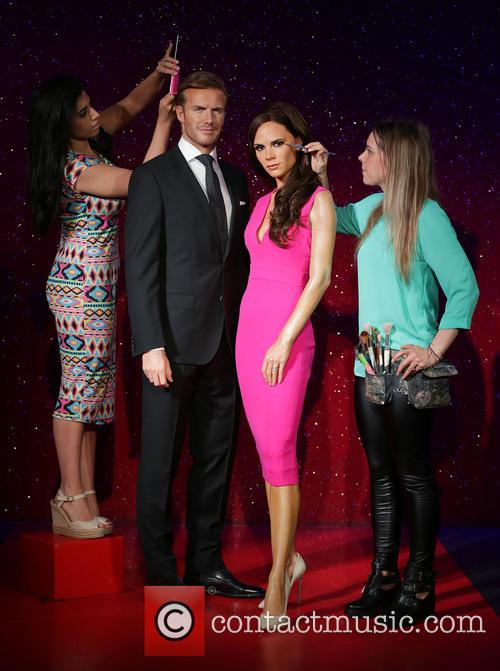 David Beckham, Victoria Beckham, Caryn Bloom, Rebecca Holmes, Wax Work Waxwork and Figures 2