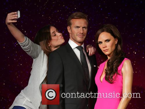 David Beckham, Victoria Beckham, Stephanie Francis, Wax Work Waxwork and Figures 1