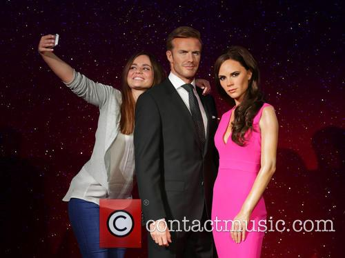 David Beckham, Victoria Beckham, Stephanie Francis, Wax Work Waxwork and Figures 8