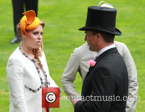 Princess Beatrice and Peter Phillips 7