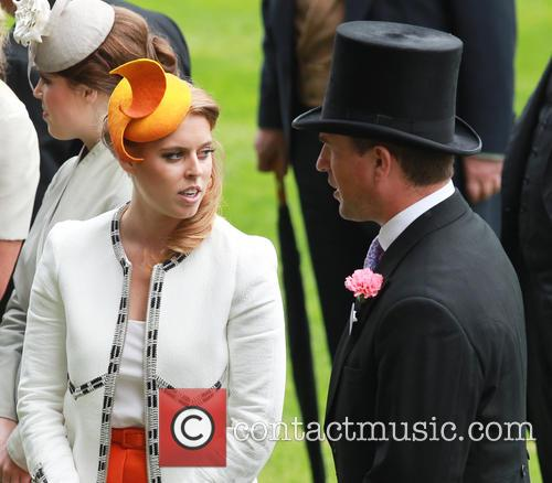 Princess Beatrice and Peter Phillips 11