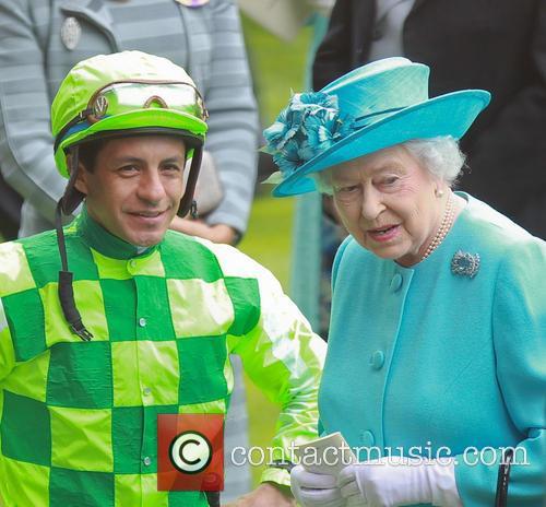 Queen Elizabeth II and Victor Espinoza 2