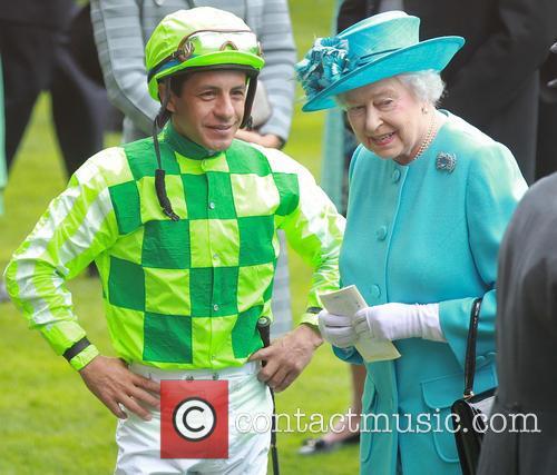 Queen Elizabeth II, Victor Espinoza, Royal Ascot