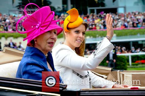 Anne, Princess Royal, Princess Beatrice, Royal Ascot