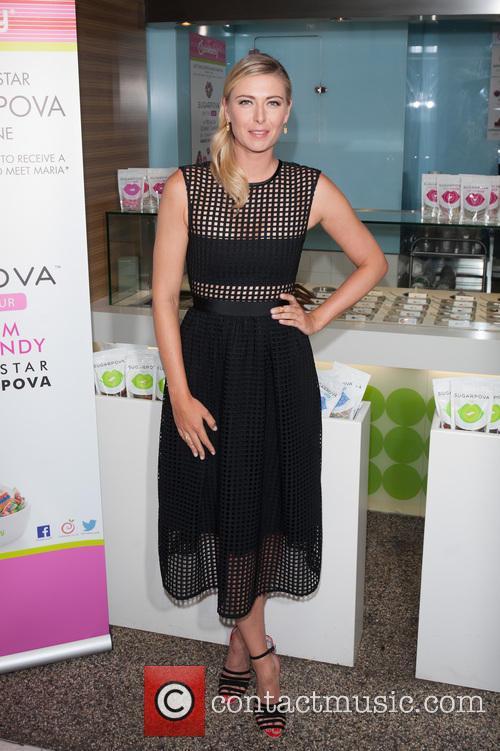 Sharapova at Selfridges