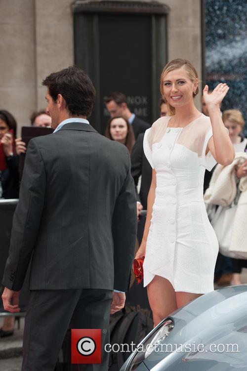 maria Sharapova and Mark Webber