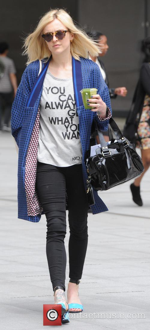 Fearne Cotton spotted outside BBC Studios