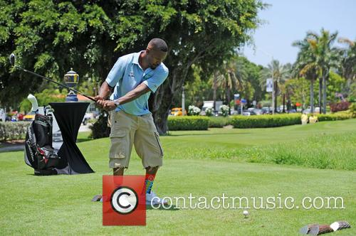 Jamie Fox attends the Irie Weekend Celebrity Golf Tournament