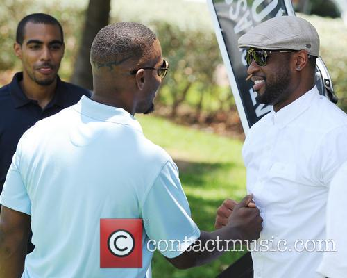 Jamie Fox attends the Irie Weekend Celebrity Golf Tournament