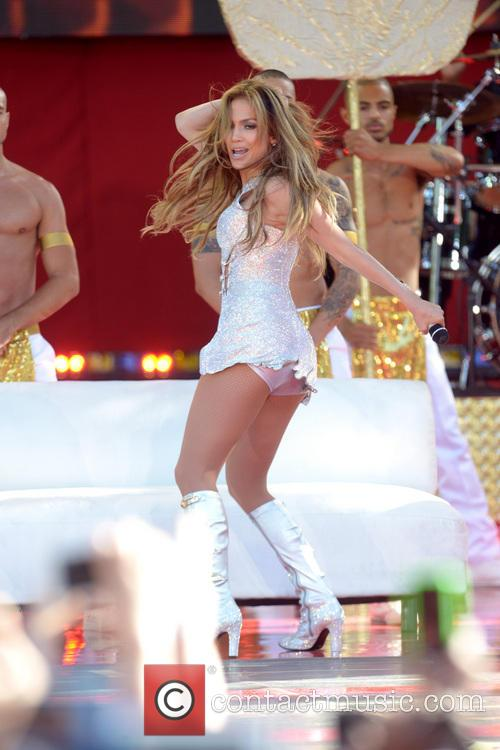 Jennifer Lopez, Central Park, Good Morning America