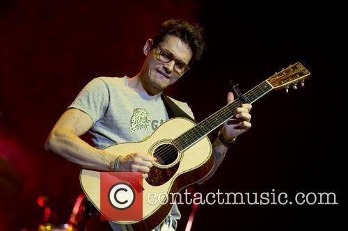 John Mayer performs live at the Ziggo Dome