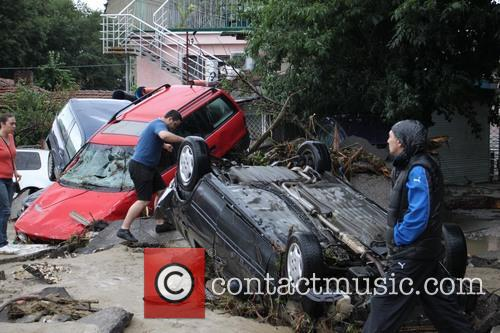 Severe flooding continues in Bulgaria