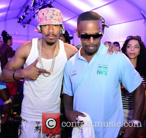 Nick Cannon and Jamie Foxx 2