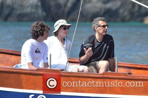 John Turturro, Katherine Borowitz and Diego Turturro 8