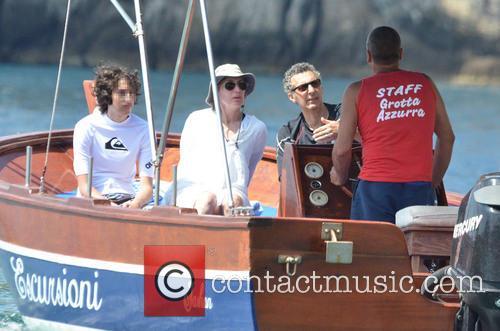 John Turturro, Katherine Borowitz, Diego Turturro