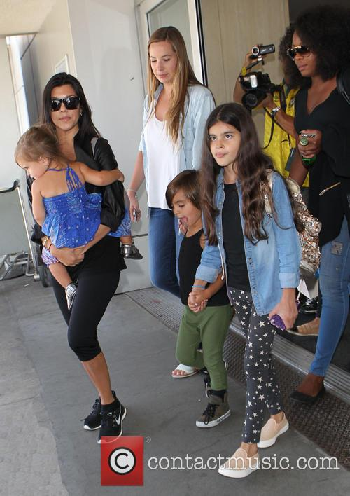 Kourtney Kardashian, Mason Disick and Penelope Disick 11