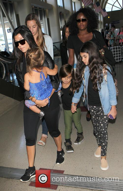Kourtney Kardashian, Mason Disick and Penelope Disick 13
