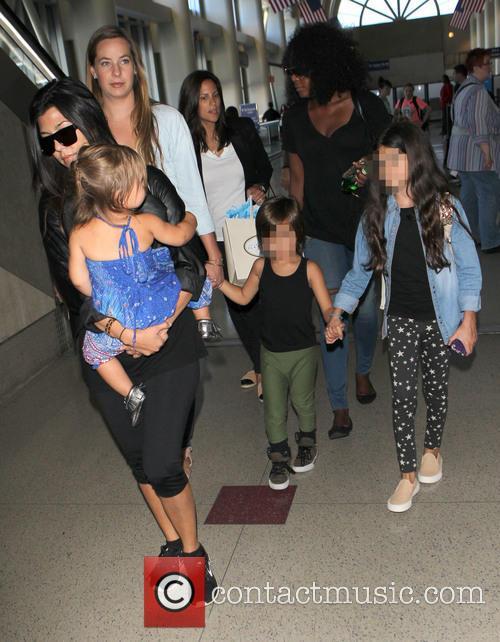 Kourtney Kardashian, Mason Disick and Penelope Disick 14