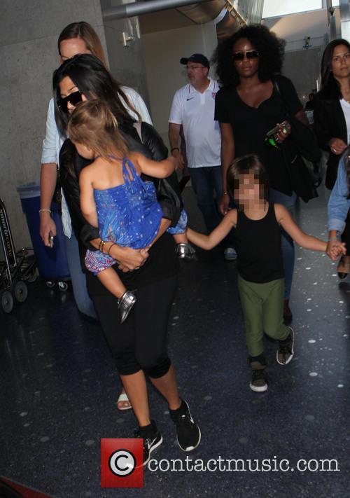 Kourtney Kardashian, Mason Disick and Penelope Disick 21