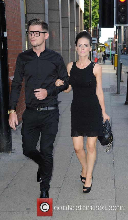 Kieron Richardson and Stephanie Waring