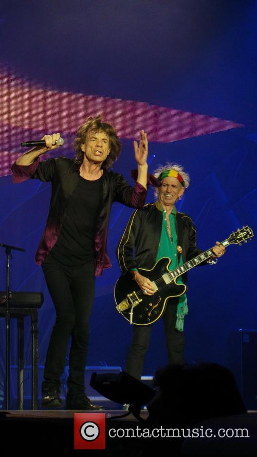 Mick Jagger and Keith Richards 6