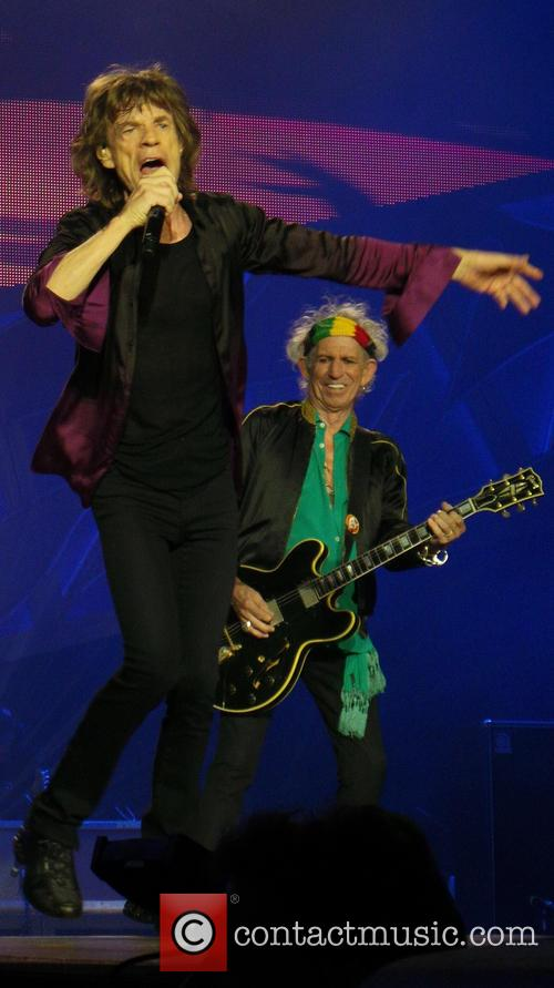 Mick Jagger and Keith Richards 8