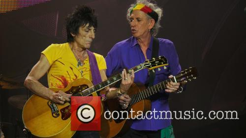 Ronnie Wood and Keith Richards 7