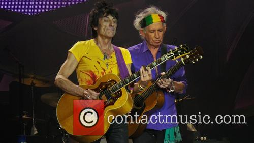 Ronnie Wood and Keith Richards 9