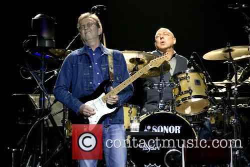 Eric Clapton performs at the SSE Hydro