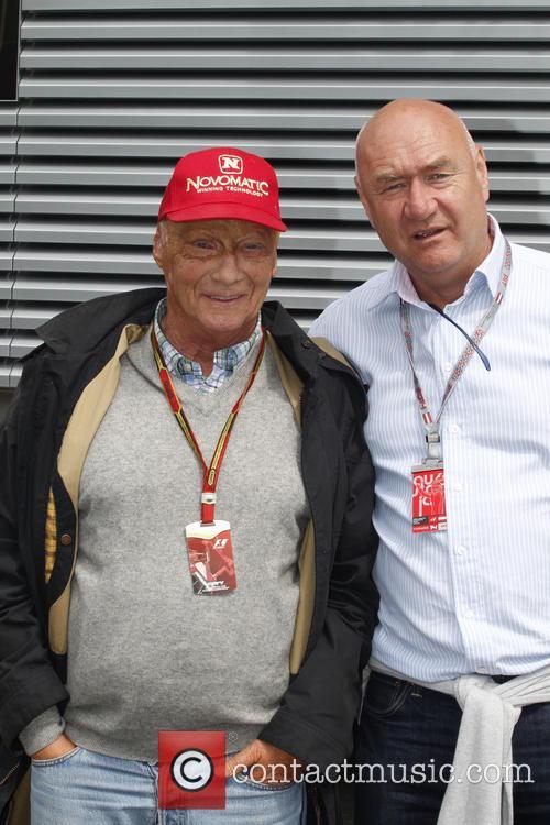 Peter Trost and Niki Lauda 1