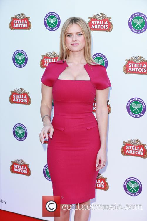 alice eve stella artois wimbledon launch party 4253527