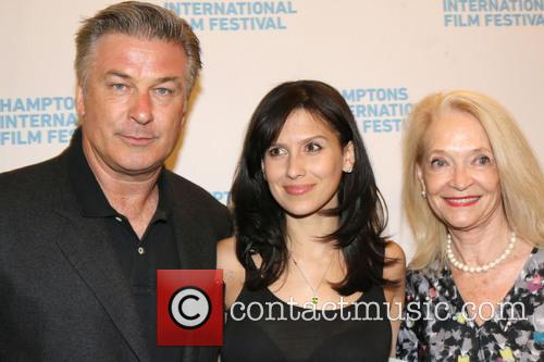 Alec Baldwin, Hilaria Baldwin and Ruth Applehof 2