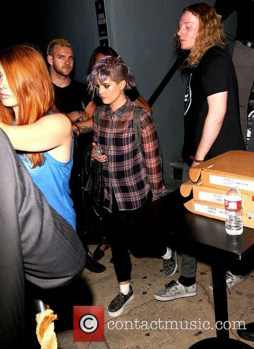 Kelly Osbourne leaves a Ray-Ban party
