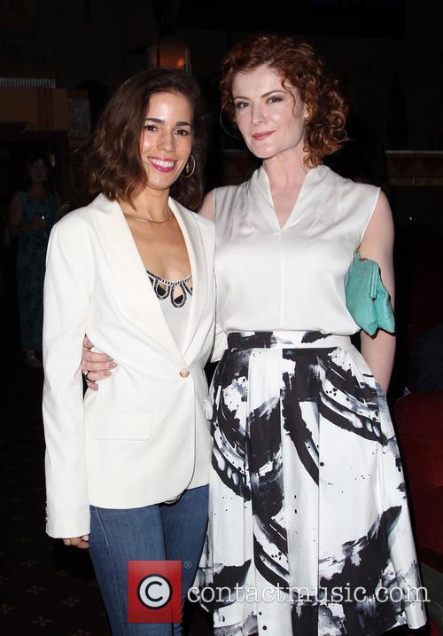 Ana Ortiz and Rebecca Wisocky 10