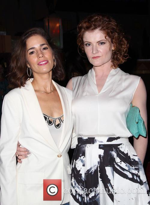 Ana Ortiz and Rebecca Wisocky 11