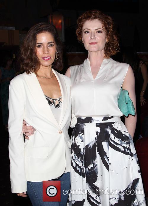 Ana Ortiz and Rebecca Wisocky 1