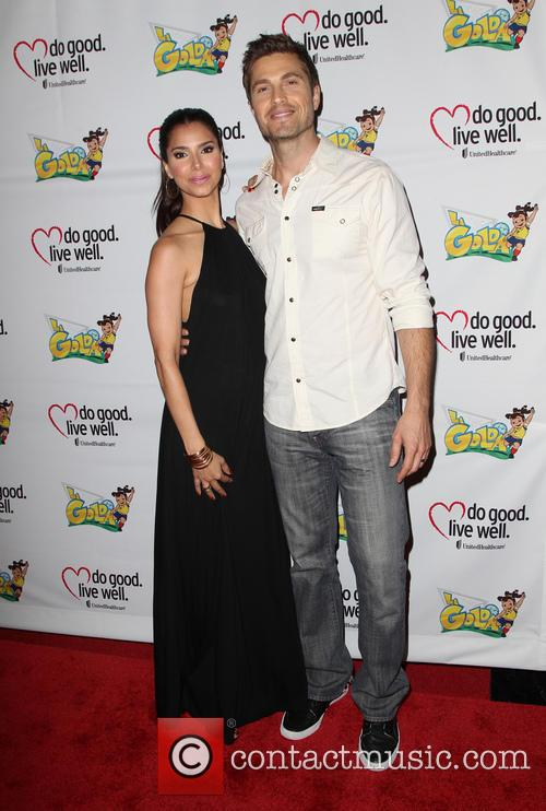Roselyn Sanchez and Eric Winter 2