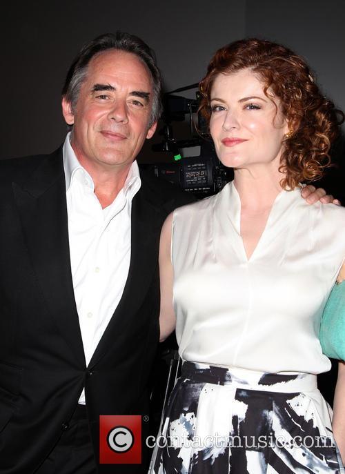 Tom Irwin and Rebecca Wisocky 1