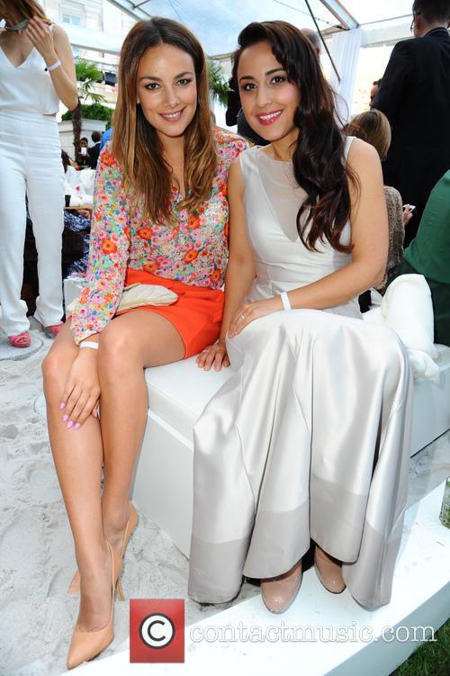 Janina Uhse and Nina Moghaddam