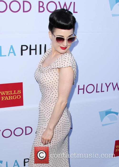 dita von teese hollywood bowl opening night 4256424