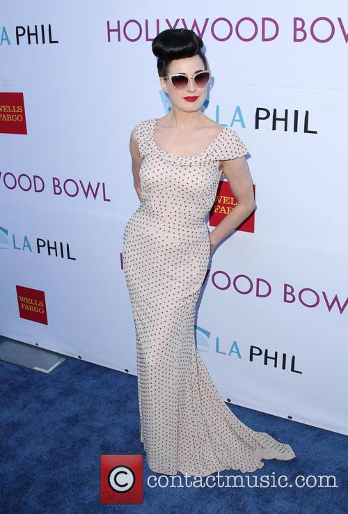 dita von teese hollywood bowl opening night 4256449