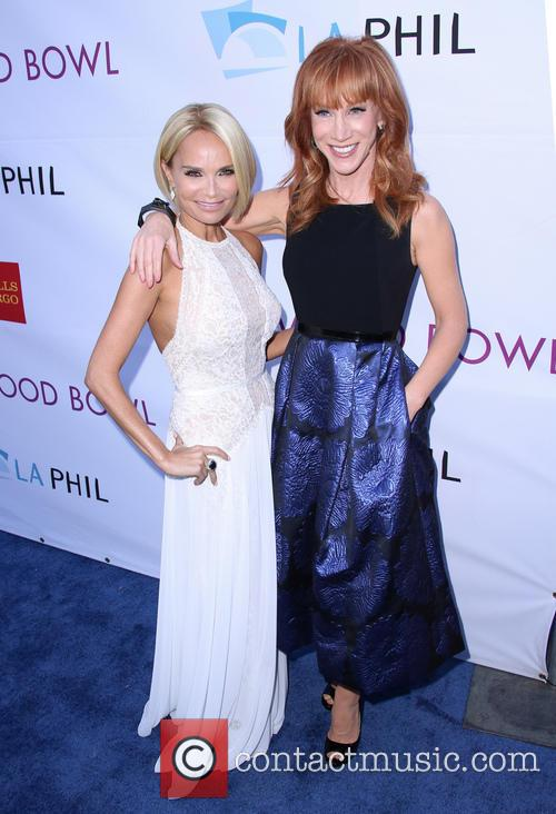 Kristin Chenoweth and Kathy Griffin 4
