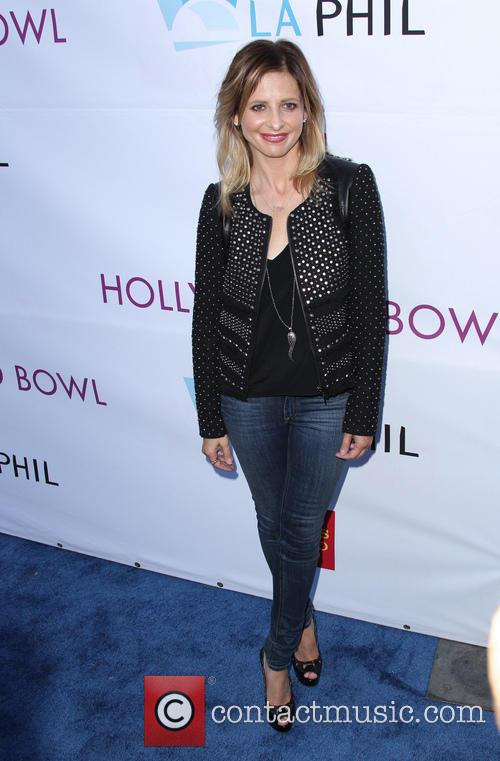 sarah michelle gellar hollywood bowl opening night 4256429