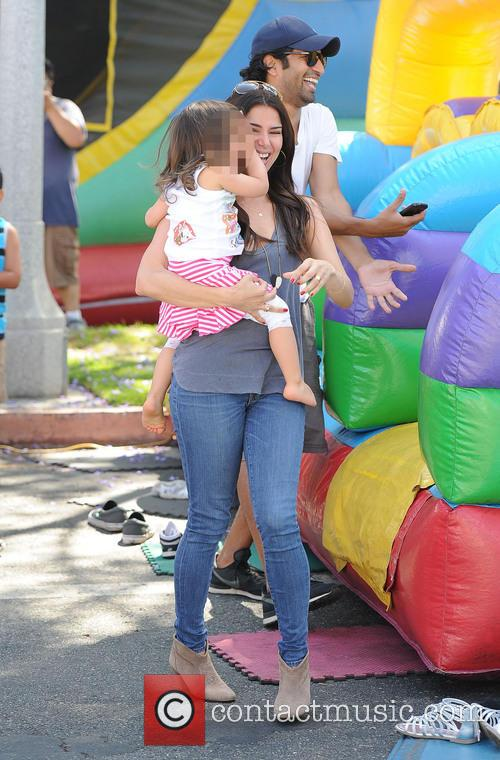 Roselyn Sanchez and Sebella Rose Winter 1