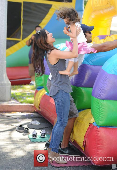 Roselyn Sanchez and Sebella Rose Winter 5