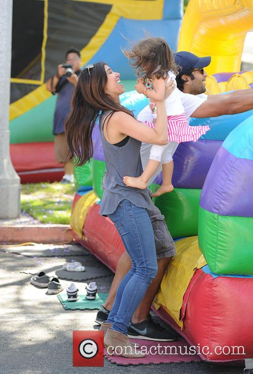 Roselyn Sanchez and Sebella Rose Winter 6